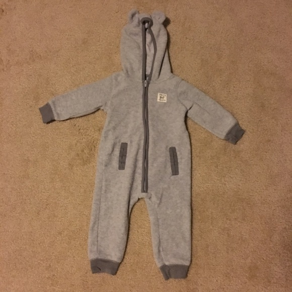d8a70361588d Carter's One Pieces | Carters 9 Month Hooded One Piece Jumpsuit Euc ...